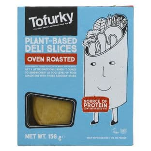 Tofurky Slices - Oven Roasted Deli  - 156g